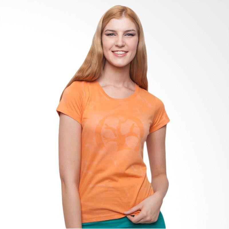 Wise Word Wear Ladies Basic T-shirt Orange