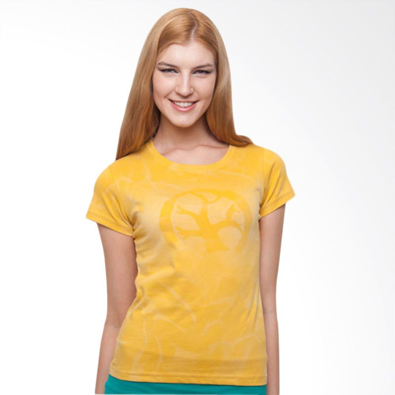Wise Word Wear Ladies Basic T-shirt Yellow