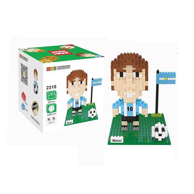 Wisehawk 2310 Lionel Messi Mainan Blok & Puzzle