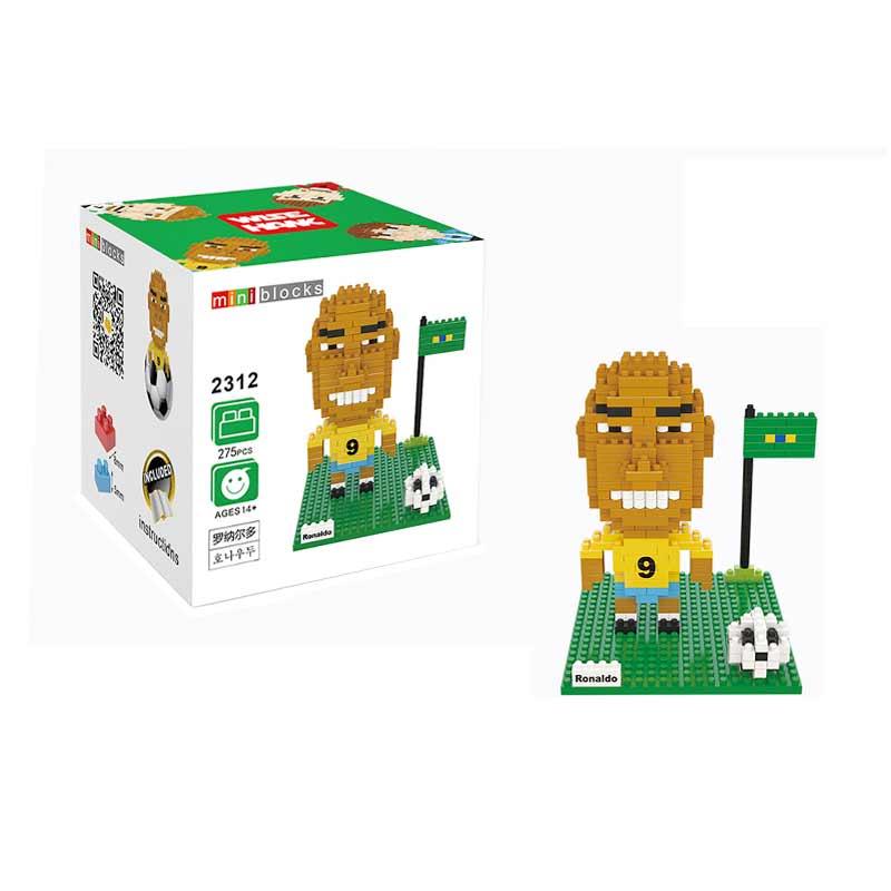 Wisehawk 2312 Ronaldo Mainan Blok & Puzzle