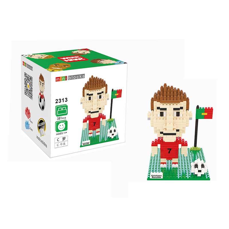 Wisehawk 2313 Cristiano Ronaldo Mainan Blok & Puzzle