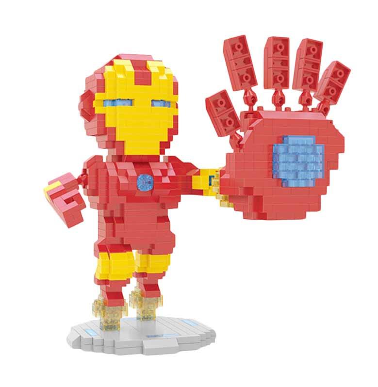 Wisehawk 2441 Ironman Mainan Blok & Puzzle