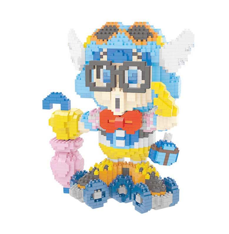 Wisehawk 2442 Arale Norimaki Dr Slump Mainan Blok & Puzzle
