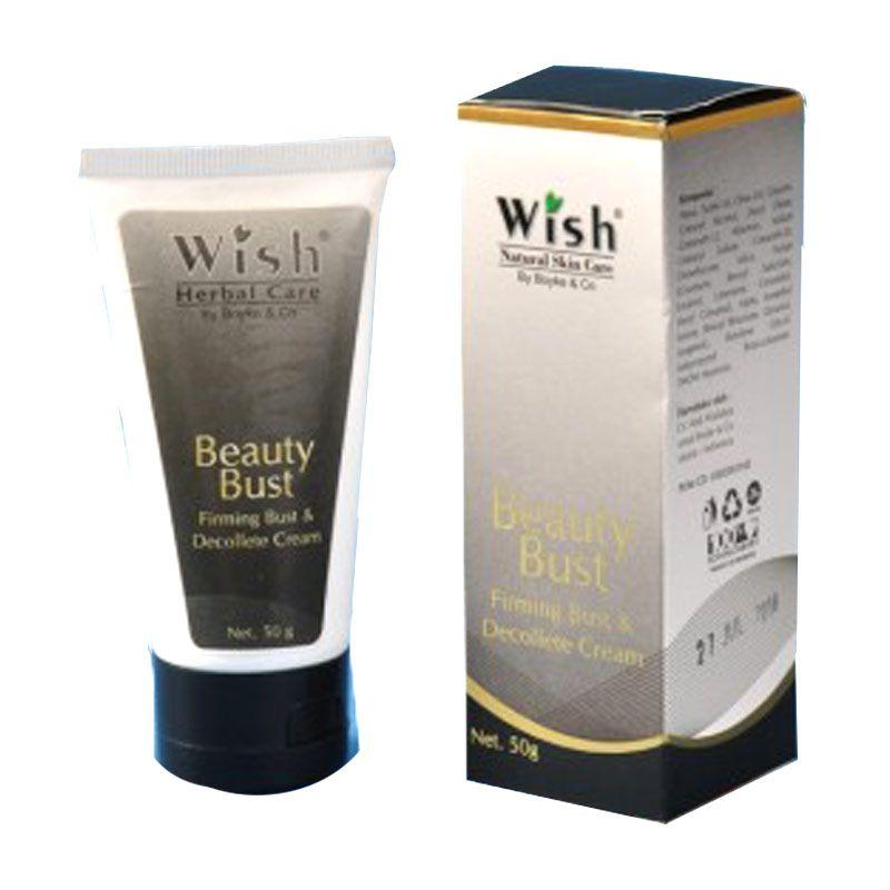 Wish Body Care Beauty Bust Cream Payudara [50 g]