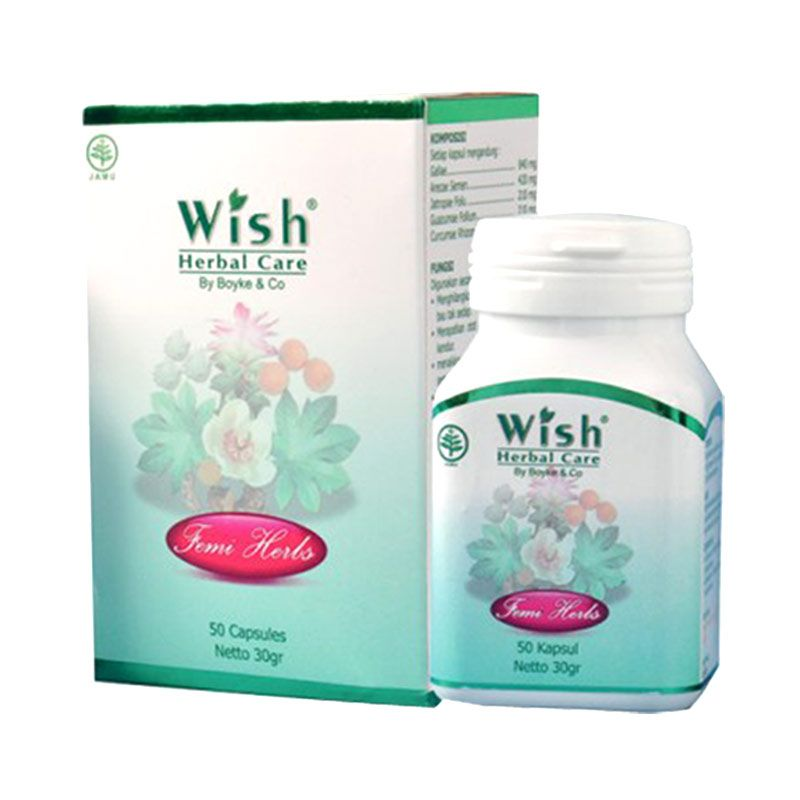 Wish Herbal Care Femiherb Suplemen