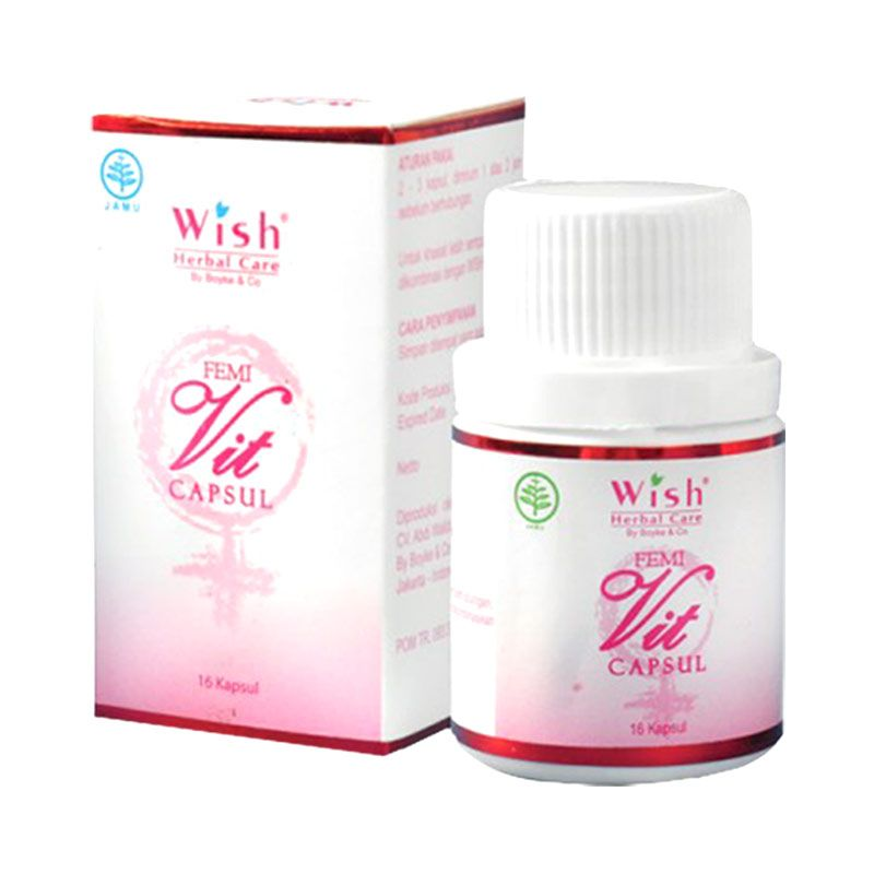 Wish Herbal Care Femivit Suplemen