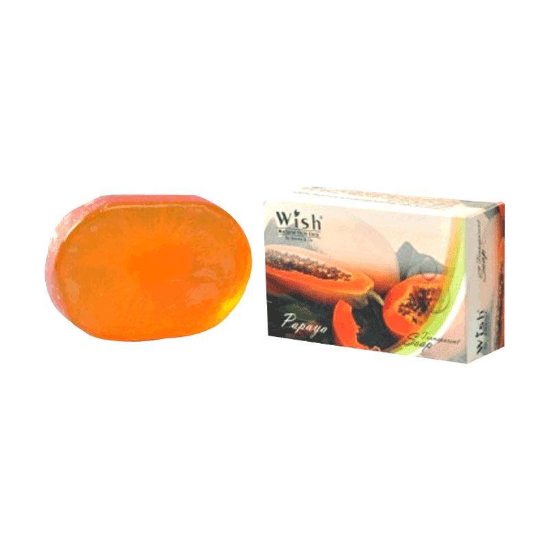 Wish Transparent Papaya Sabun Kecantikan