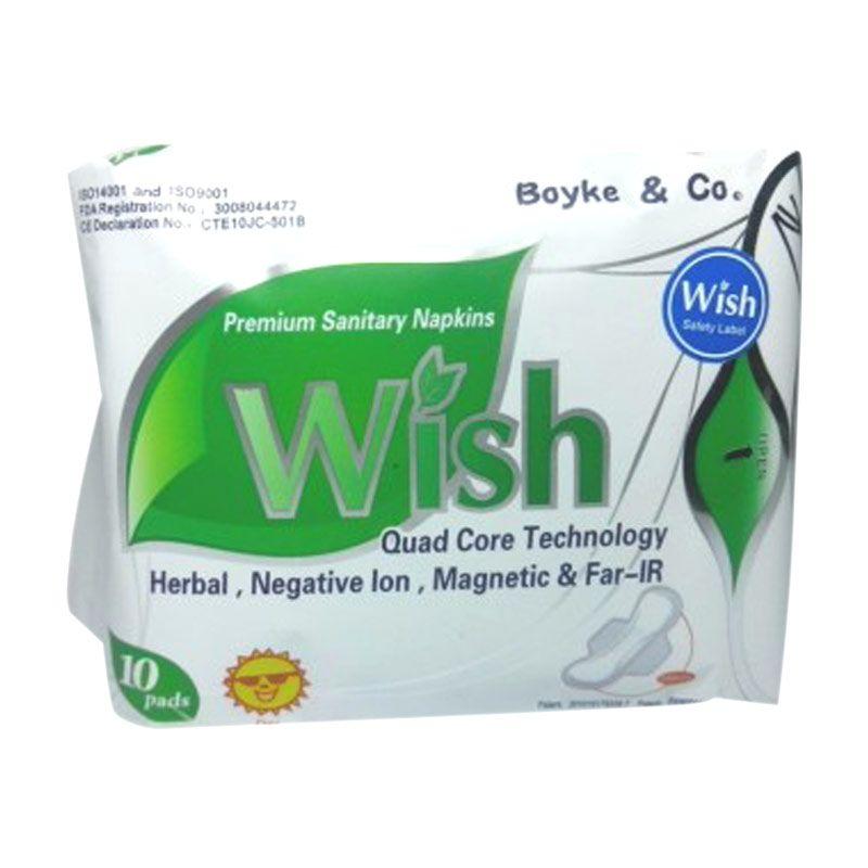Wish Sanitary Napkins Day Use Pembalut