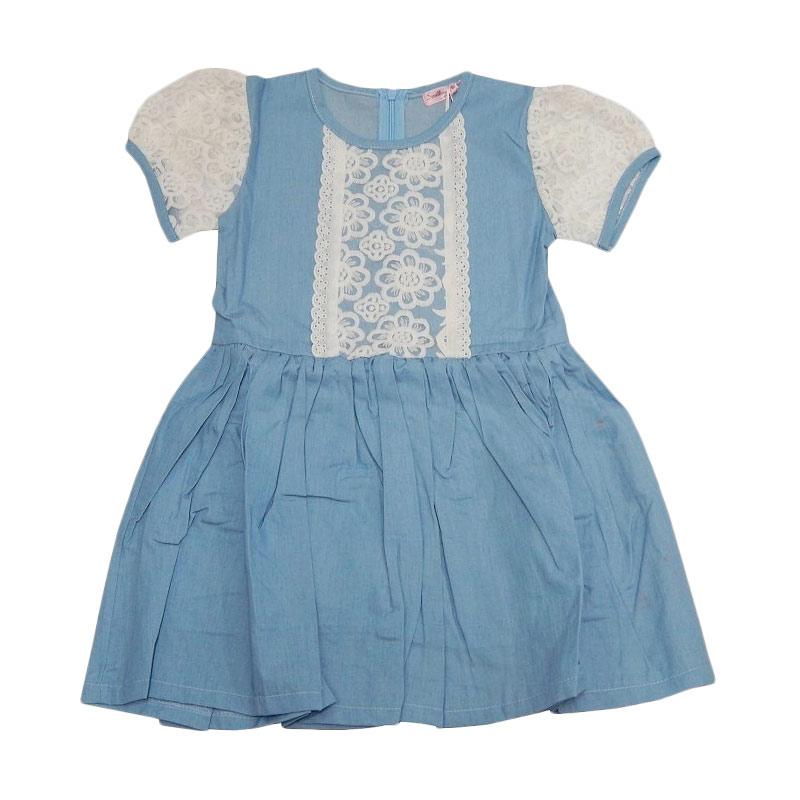 harga Wonderland Denim Brukat Dress Anak Blibli.com