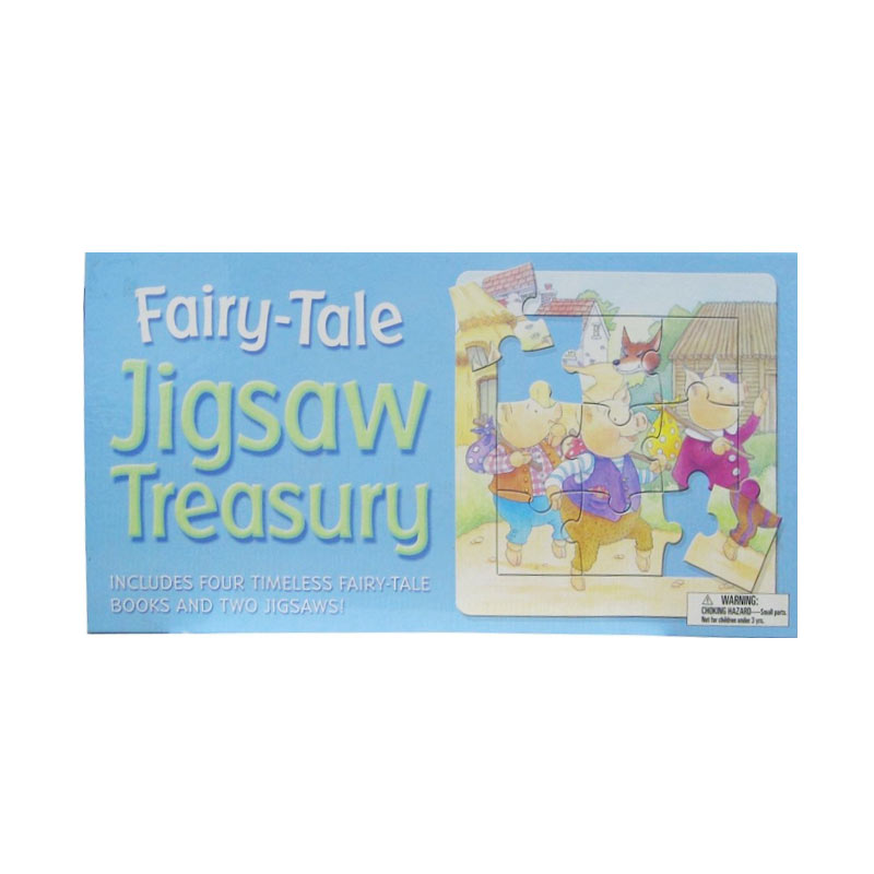 Wonderland Fairy Tale Jigsaw Treasury Buku Dongeng