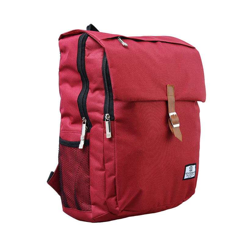 Woodbags Classico  Backpack - Red Fanta