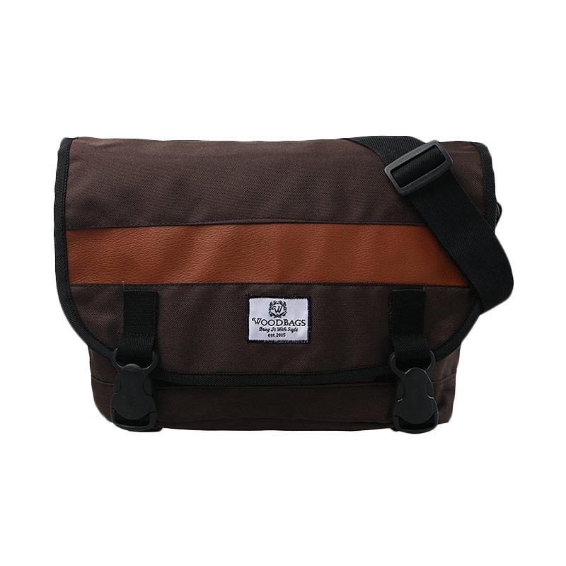 Woodbags Messenger Bag - Choco