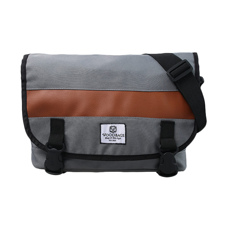Woodbags Messenger Bag - Grey