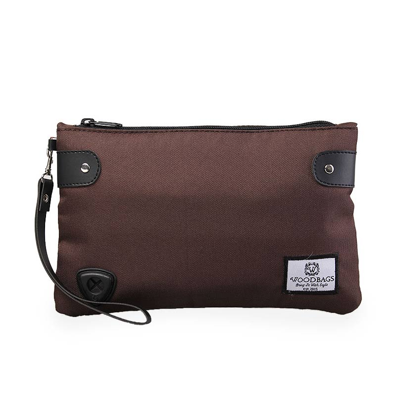 Woodbags Original Clutch Season 2 - Choco Brown