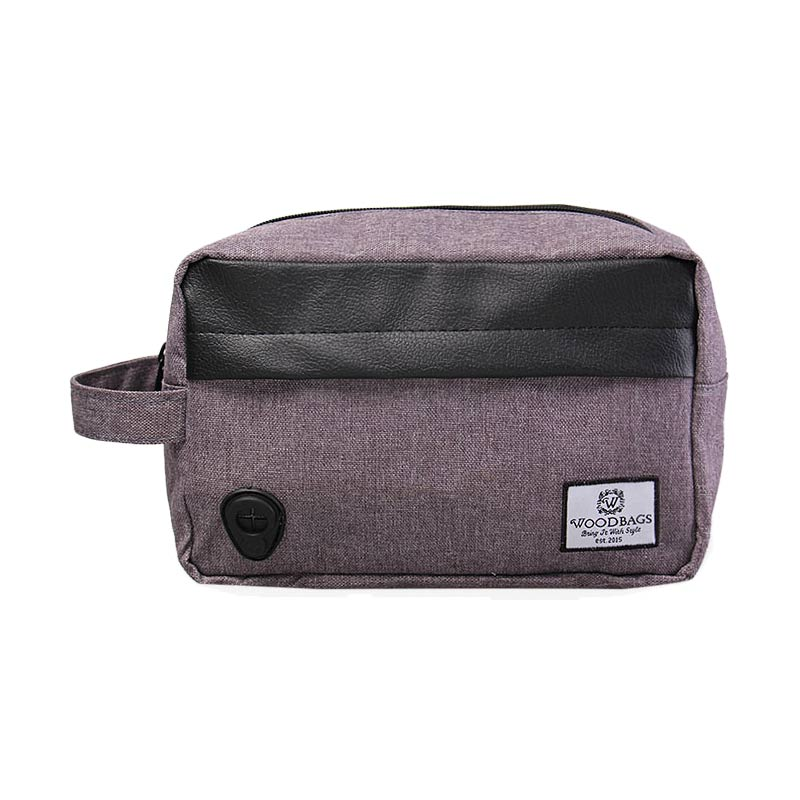 Woodbags Pouch Bag - Grey
