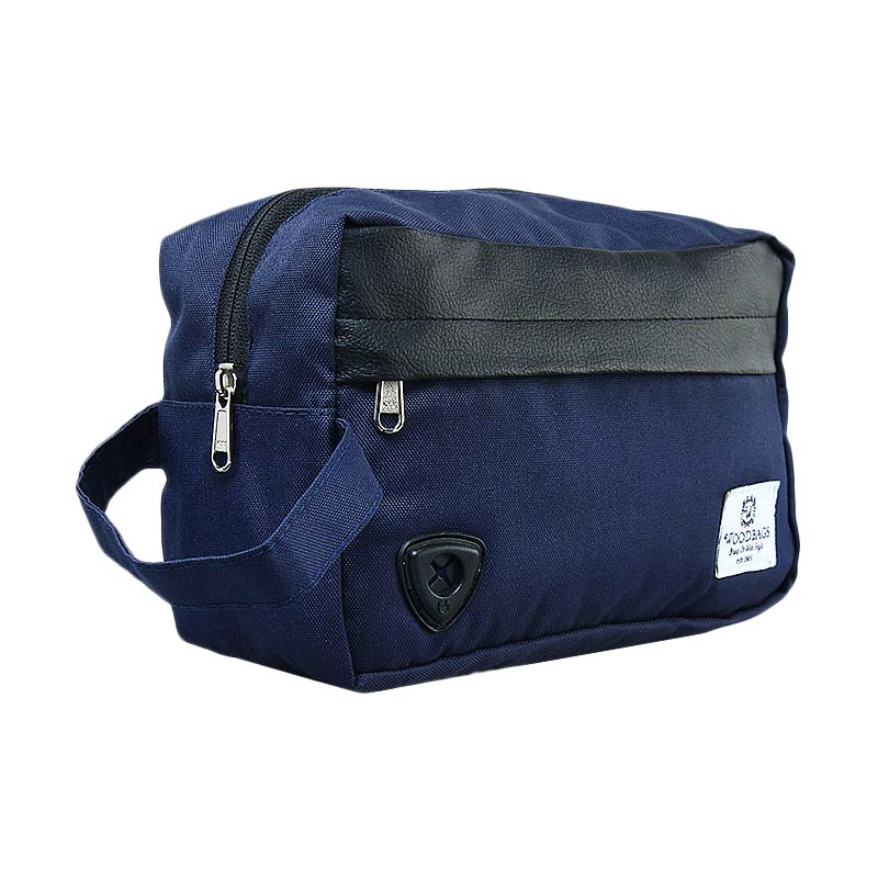 Woodbags Pouch Bag - Navy Blue