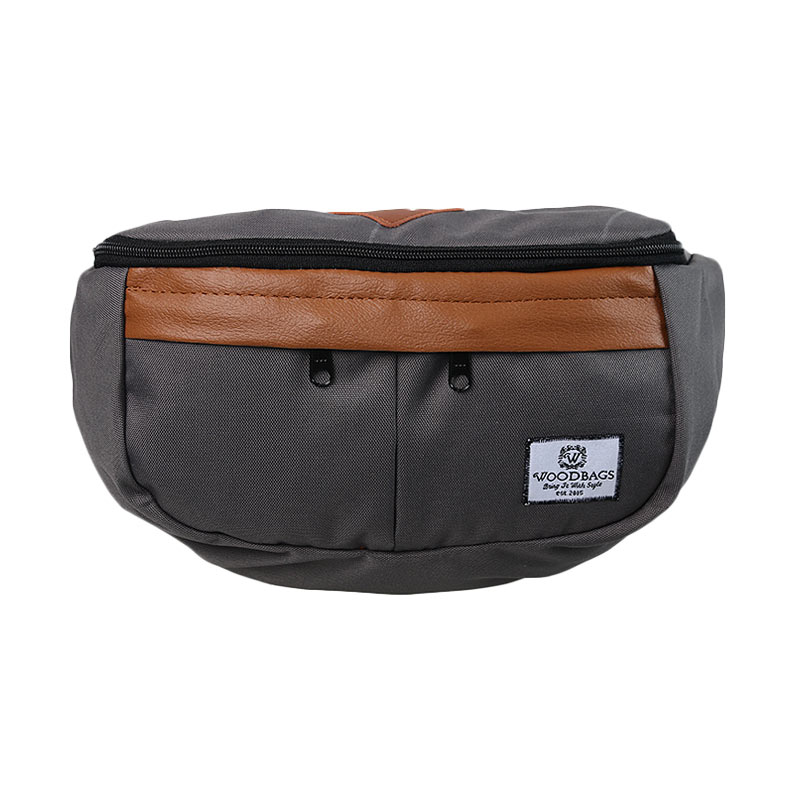 Woodbags Waist Bag - Grey