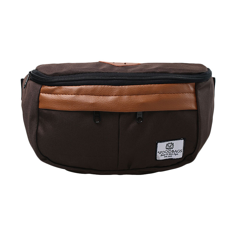 Woodbags Waistbag - Choco