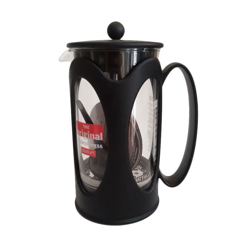 Bodum Kenya Black High End Coffee Plunger with Heat Resistant Glass 1000 ml