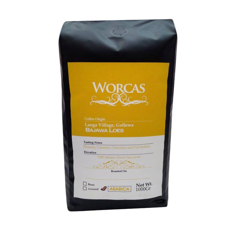 Worcas - Arabika Flores Bajawa Bubuk 1000 gr