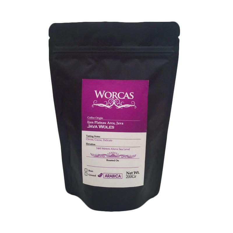 Worcas - Arabika Java Woles Bubuk 200 gr