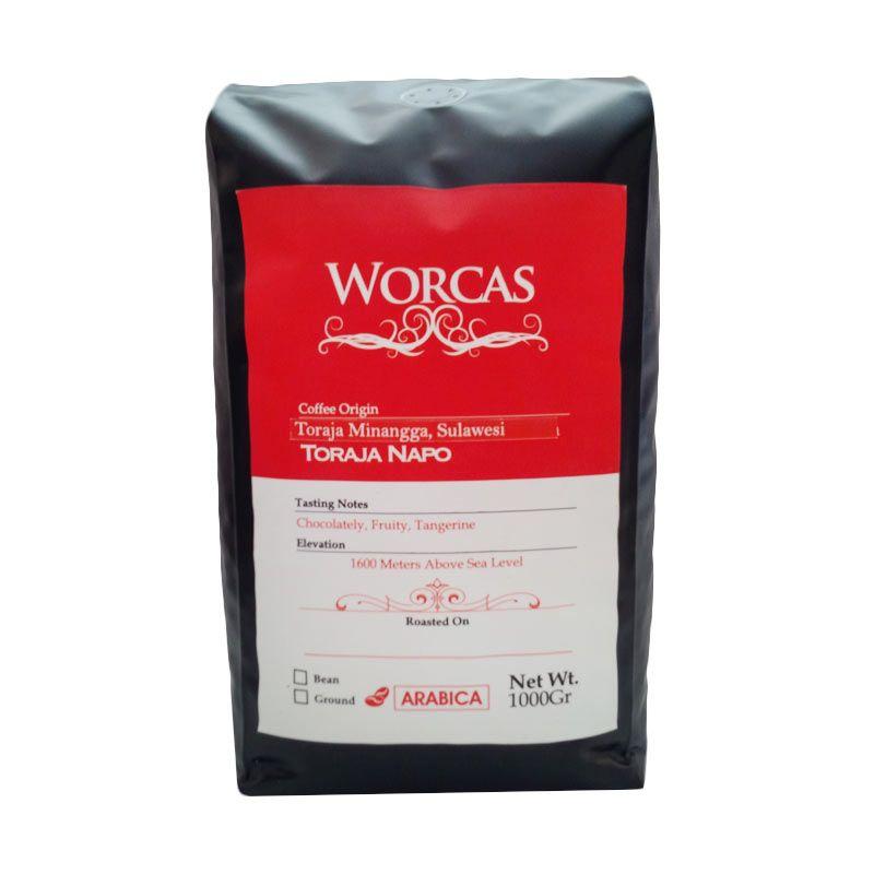 Worcas - Arabika Toraja Napo Biji 1000 gr