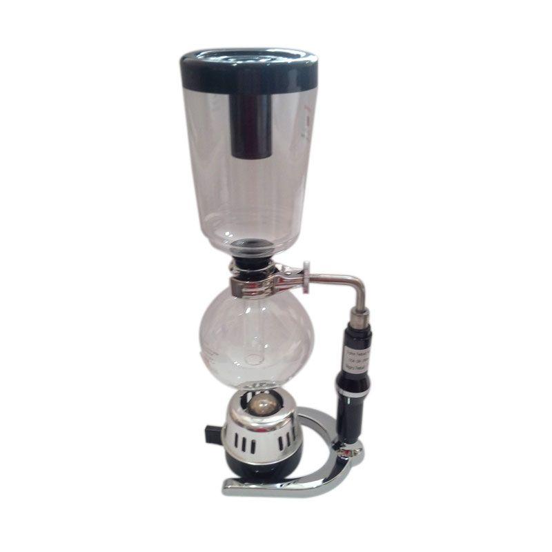 Worcas Elegant Design Coffee Syphon with Heat Resistant Glass (600ml)