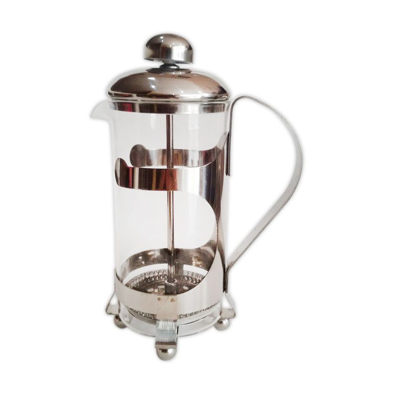 Worcas - Elegant Design French Press 350ml with Heat Resistant Glass