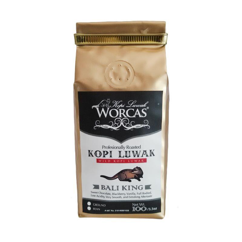 Worcas Wild Kopi Luwak Bali 100 Gram Biji