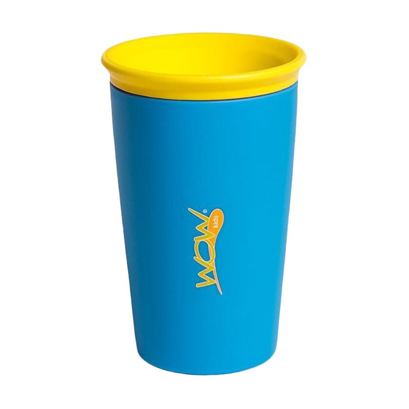 Wow Cup for Kids - Blue - Gelas Minum Anak