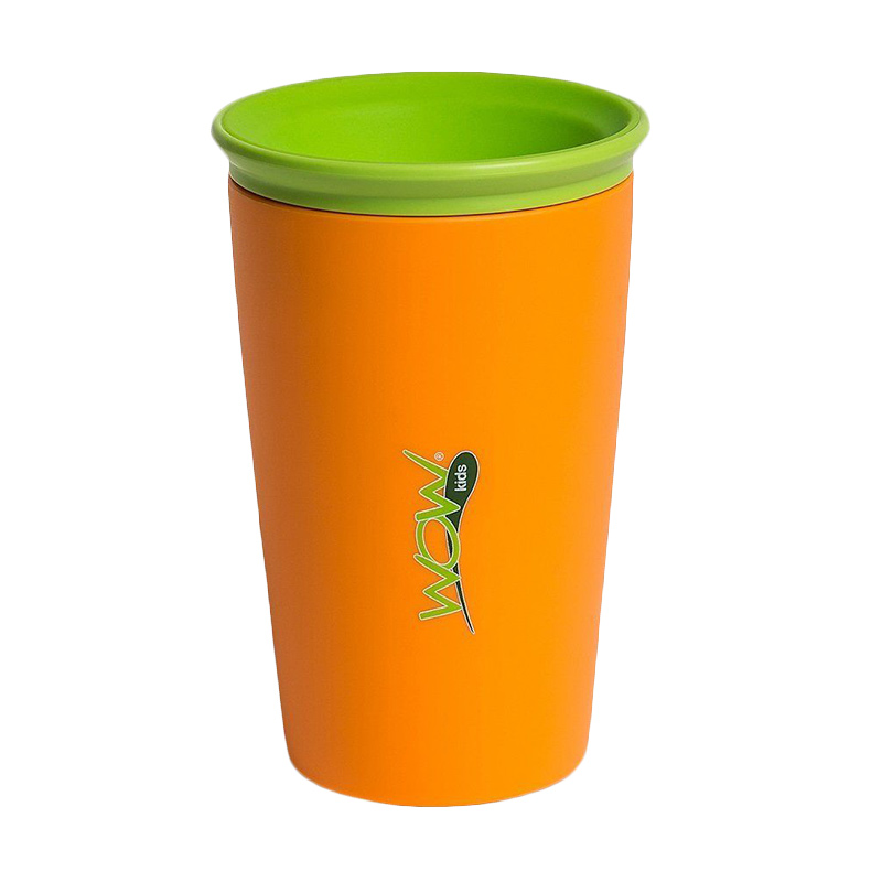 Wow Cup for Kids - Orange - Gelas Minum Anak
