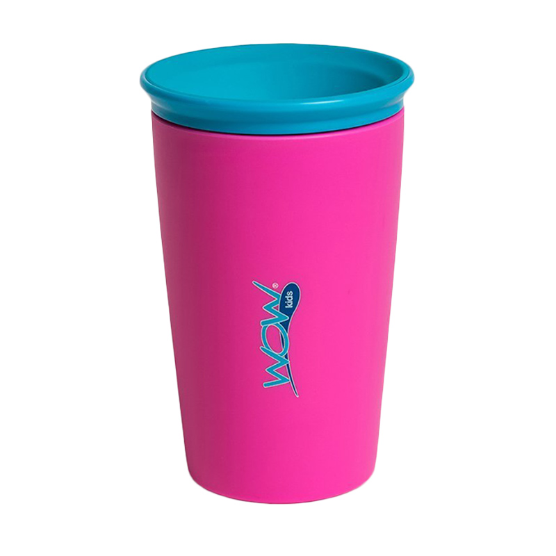 Wow Cup for Kids Pink Alat Makan Bayi