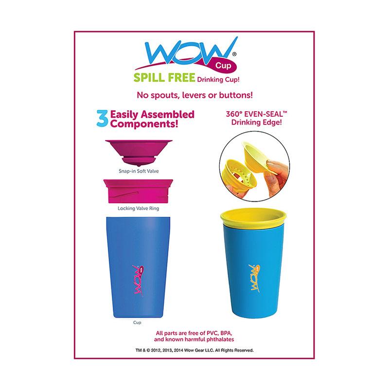 Jual Wow Cup for Kids - Pink - Gelas Minum Anak Online - Harga & Kualitas