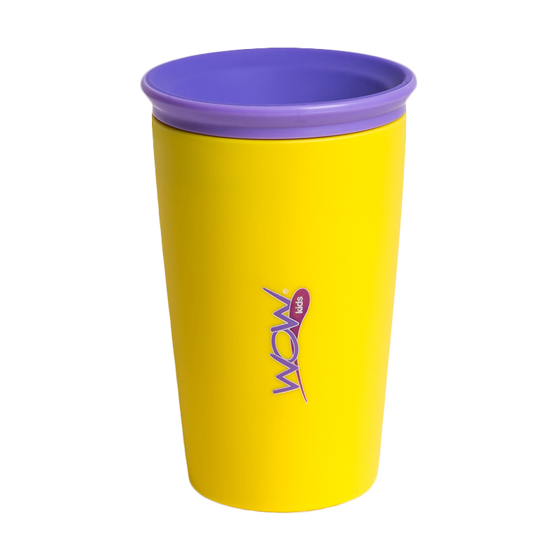Wow Cup for Kids - Yellow - Gelas Minum Anak