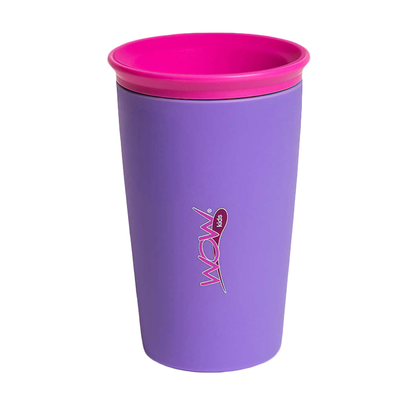Wow Cup for Kids - Purple - Gelas Minum Anak
