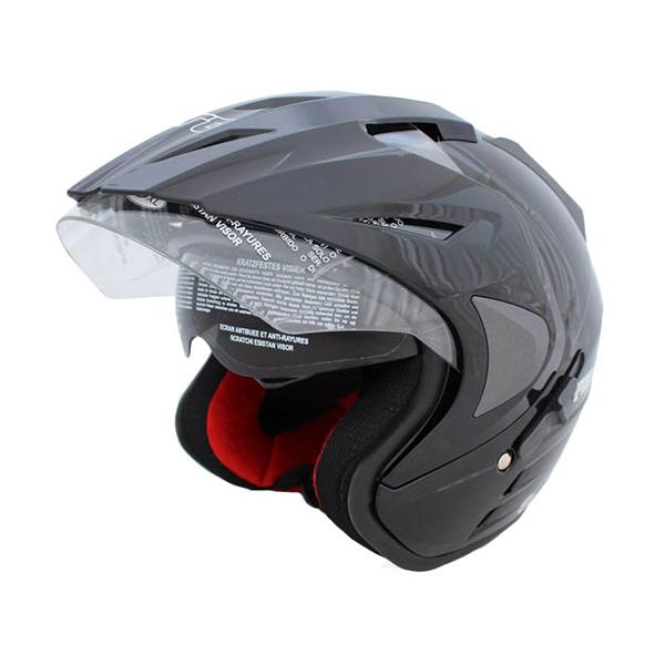 Jual WTO Helmet Pro Sight Hitam Helm Open Face Free