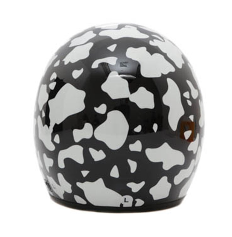 wto helmet wto helmet retro bogo cow hitam helm half face free sarung tangan handuk full06