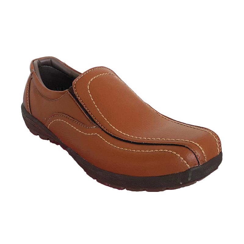 X-Cuppee JG 079 Casual Formal Shoes Sepatu Pria - Camel