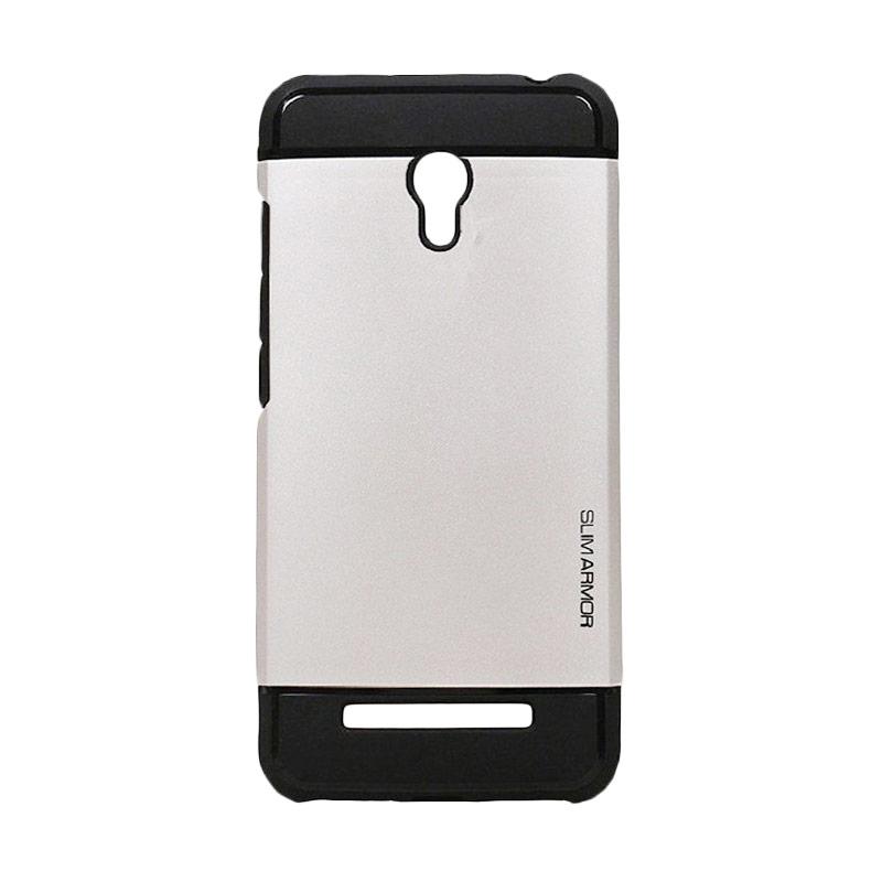 Spigen Slim Armor Casing for Xiaomi Redmi 1s - Silver
