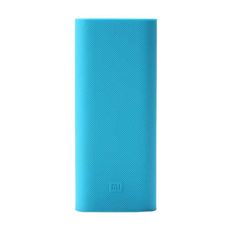 Xiaomi Silicone Casing for Xiaomi Powerbank [16000 mAh] - Biru