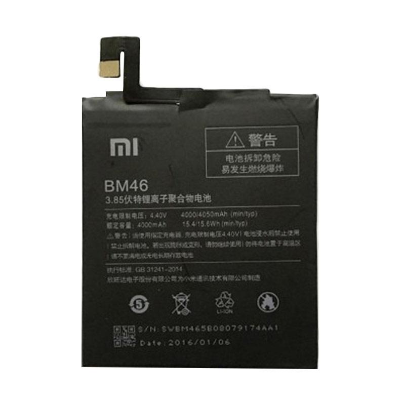 Xiaomi BM46 Original Baterai for Xiaomi Redmi Note 3 [4000 mAh].