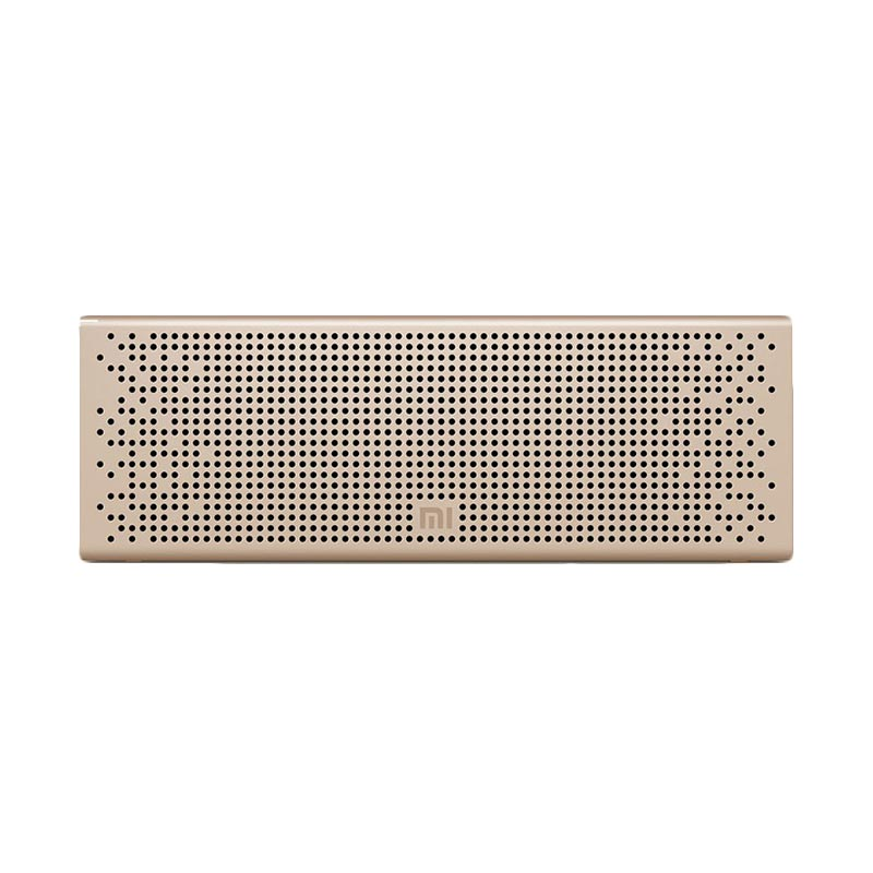 Xiaomi Metal Box Portable Bluetooth Speaker - Gold