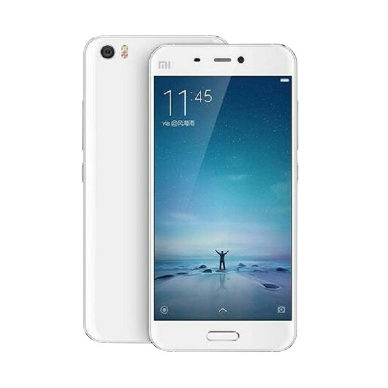 Harga Terbaru Xiaomi MI 5 Smartphone – White [32GB/ 3GB]