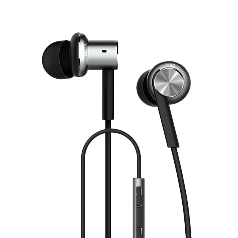 Xiaomi Mi IV Hybrid Dual Drivers In-Ear Earphone - Silver