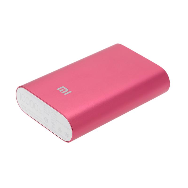 harga Xiaomi Original Mi Power Bank - Red [10000 mAh] Blibli.com