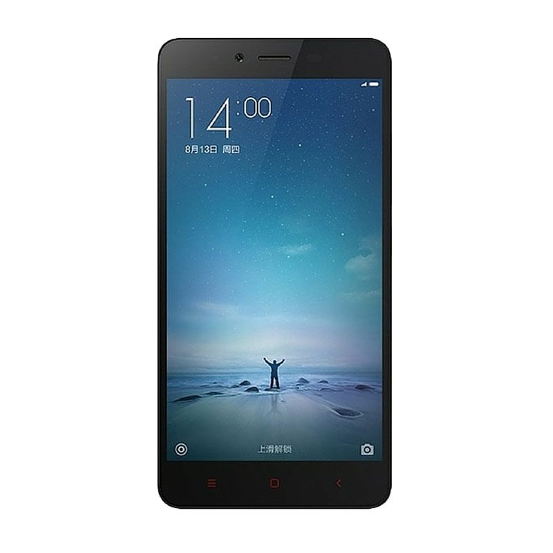 harga Xiaomi Redmi Note 2 Prime Smartphone - Hitam [32 GB/2 GB RAM] Blibli.com