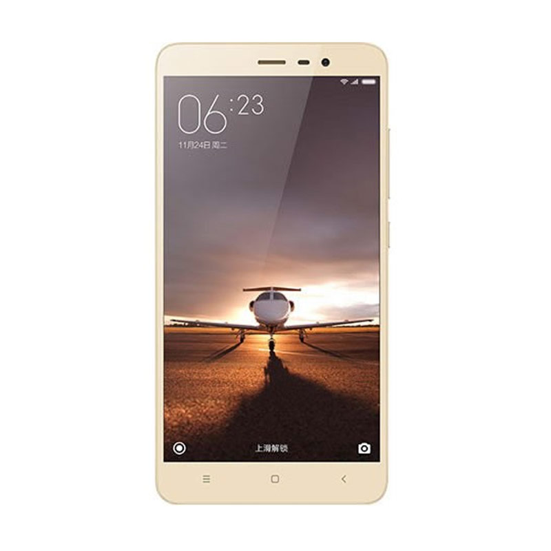 Xiaomi Redmi Note 3 Pro Smartphone - Gold [32GB/ 3GB/ Garansi Distributor]