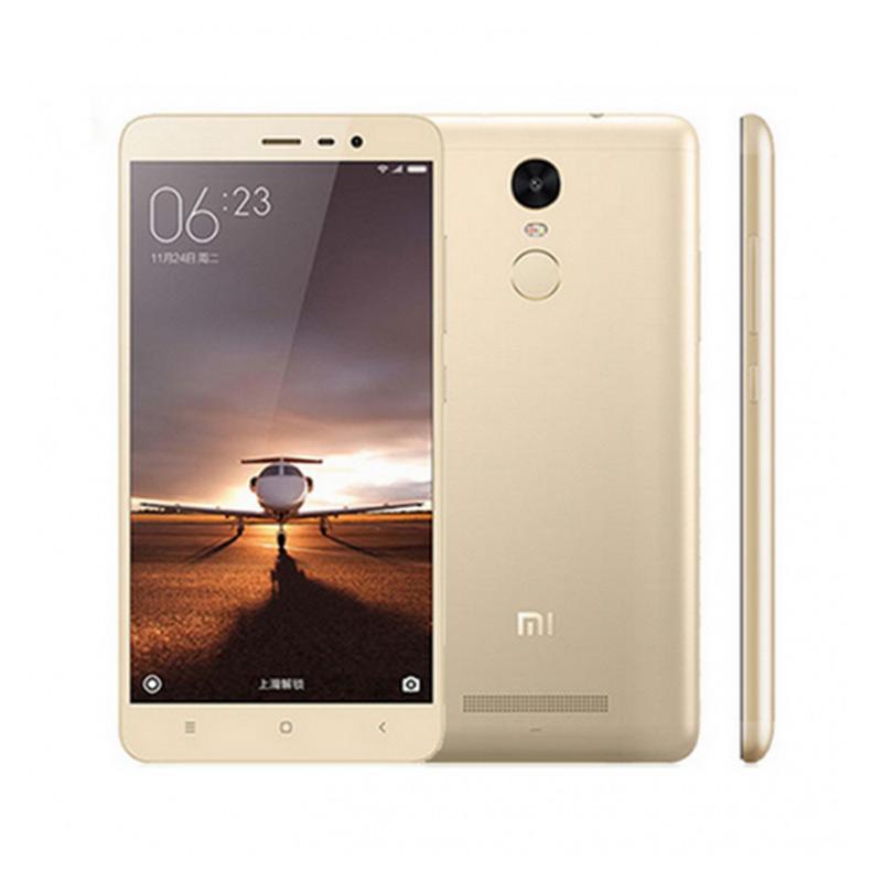 Xiaomi Redmi Note 3 Pro Smartphone - Gold [Garansi Resmi TAM]