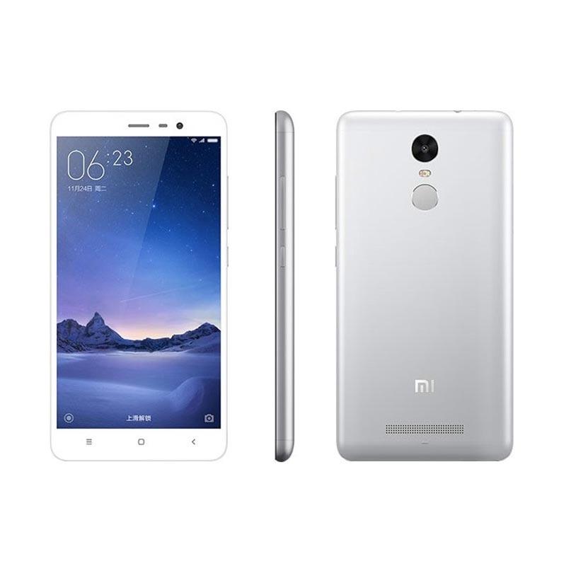 Jual Xiaomi Redmi Note 3 Pro Smartphone – Silver (3GB/32GB/Distributor)