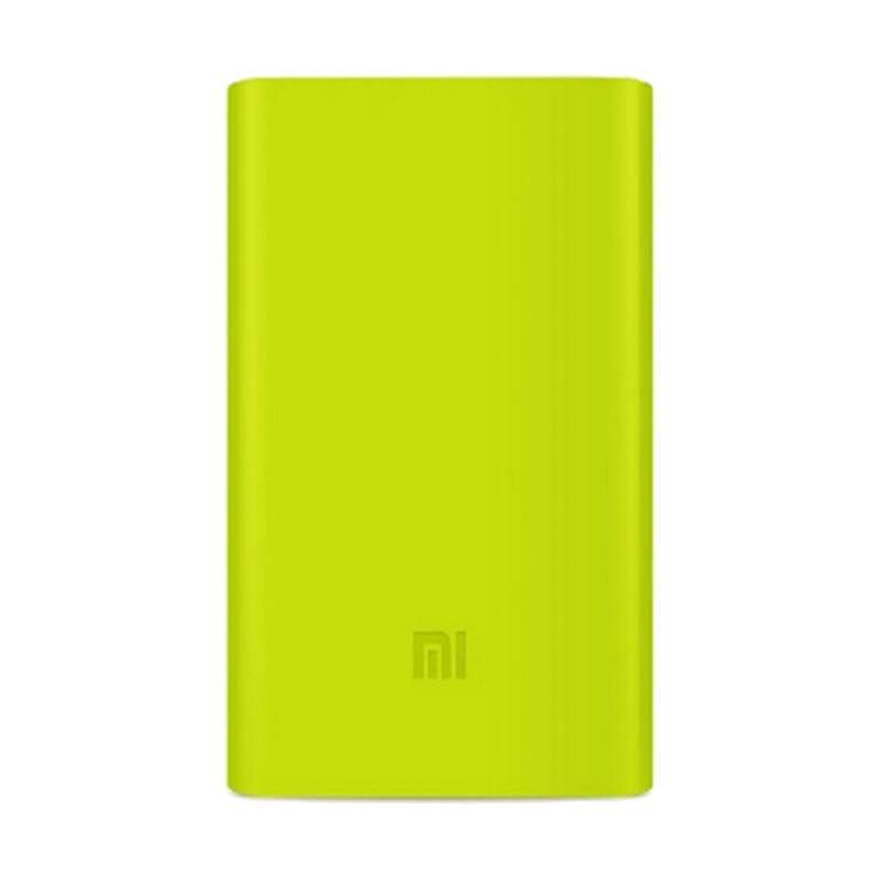 Xiaomi Silicon Green Casing for Mi Powerbank [10000 mAh]